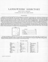 Page 001, Grant County 1913 Landowners Directory